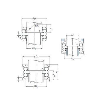 52309 ISO Ρουλεμάν ώσης