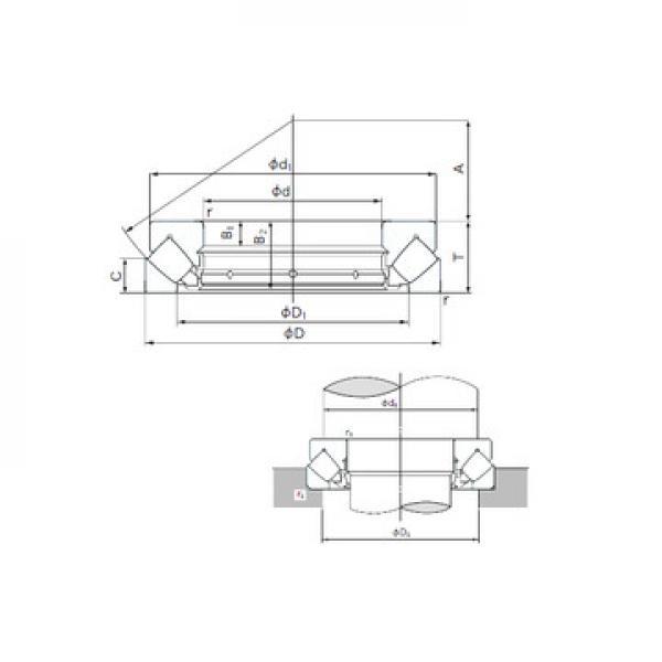 AXW 30 + AXK 3047 SKF Ρουλεμάν ώσης