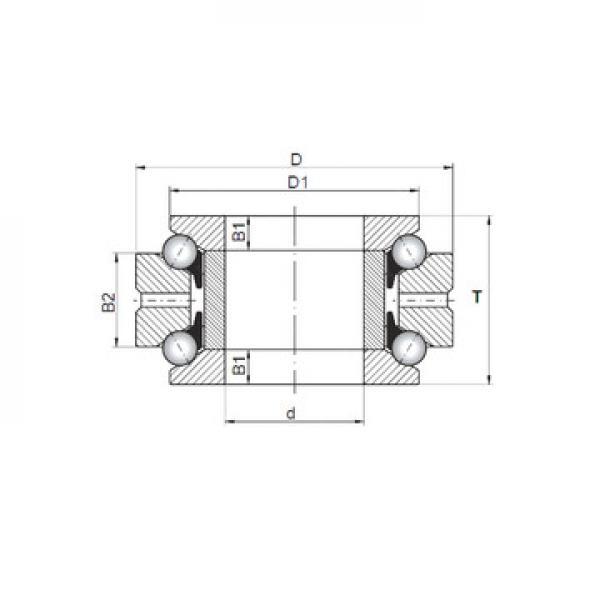 ZBL.20.0644.201-2SPTN ISB Ρουλεμάν ώσης