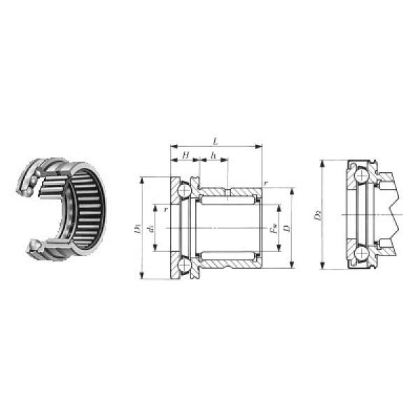 53307U+U307 ISO Ρουλεμάν ώσης